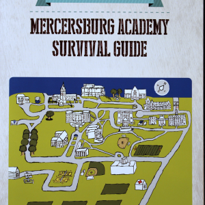 Mercersburg Campus Map for Yearbook