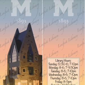 Mercersburg Library Bookmark (Contest Winner)