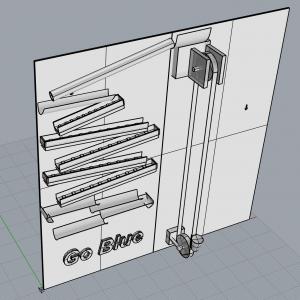 Rube Goldberg 3D Model