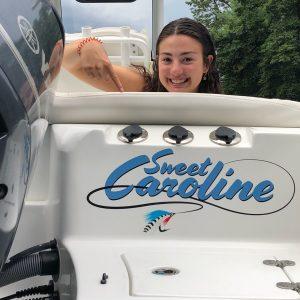 Sweet Caroline Boat Logo