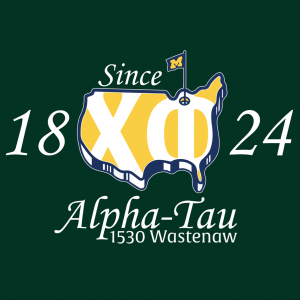Chi Phi Golf Masters Graphic