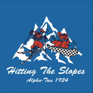 Grateful Dead Skiing Graphic (Chi Phi Colors)