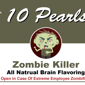 Zombie Killer Soup Label